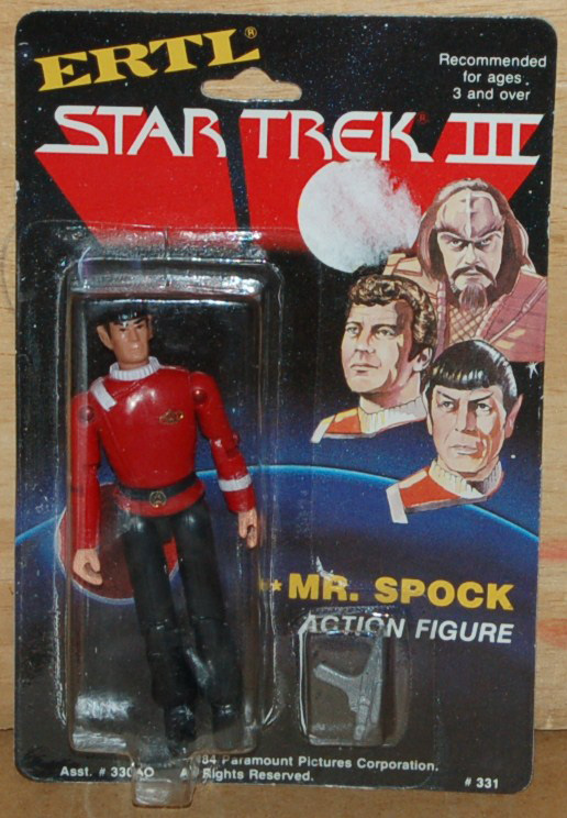 ERTL Figure - Mr. Spock