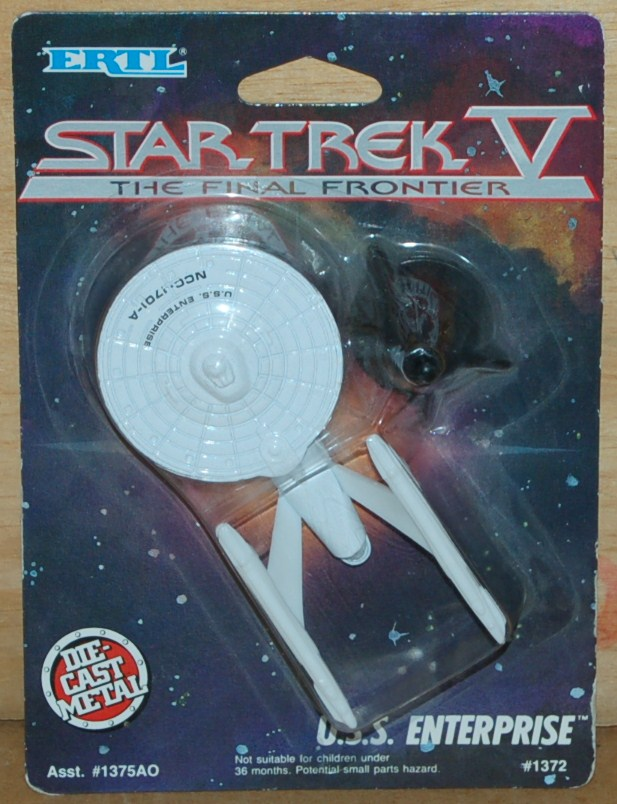 ERTL Star Trek V Ship - USS Enterprise NCC-1701-A