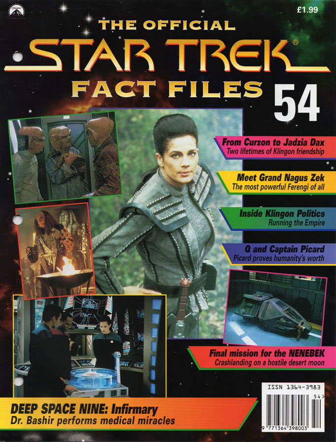 Star Trek Fact Files Cover 054