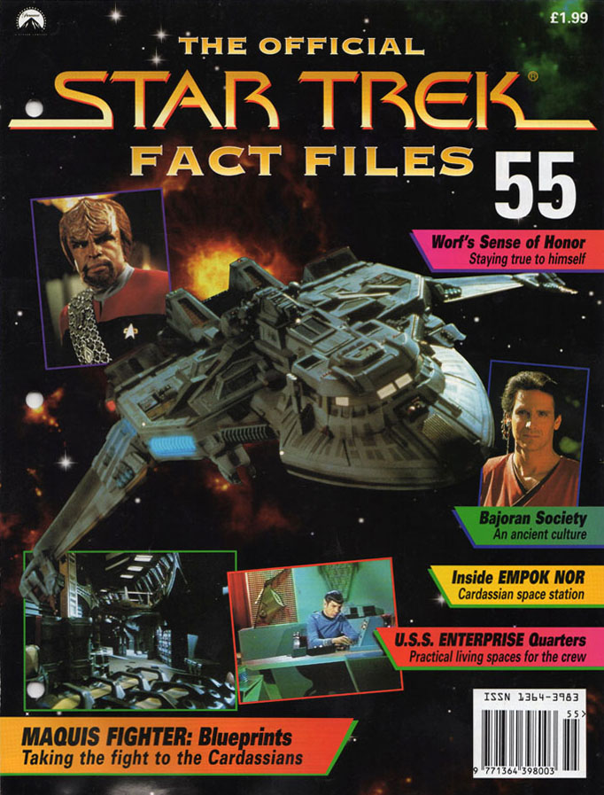 Star Trek Fact Files Cover 055