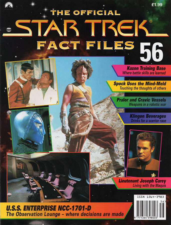 Star Trek Fact Files Cover 056