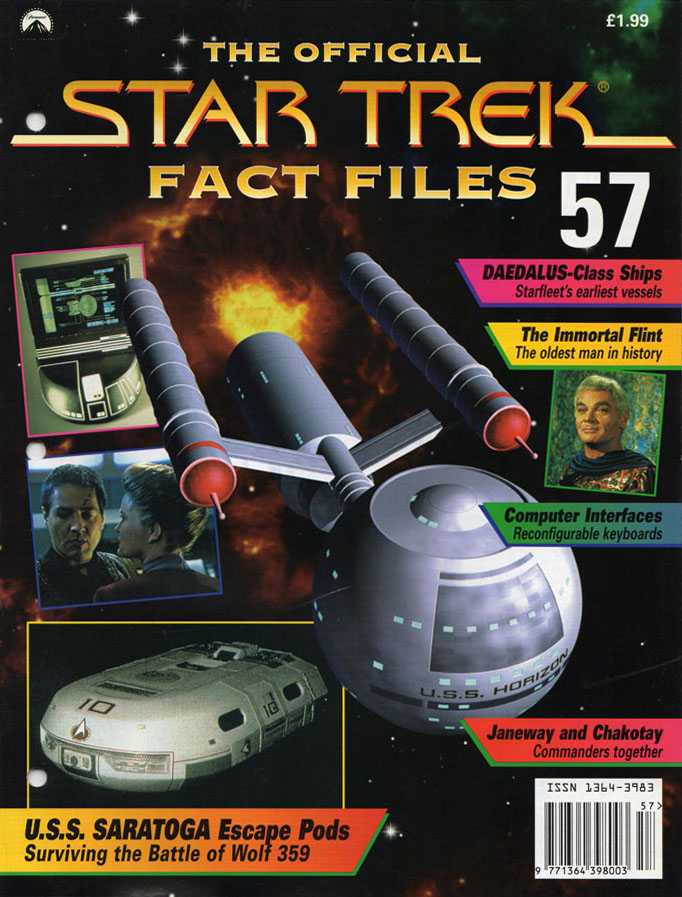 Star Trek Fact Files Cover 057