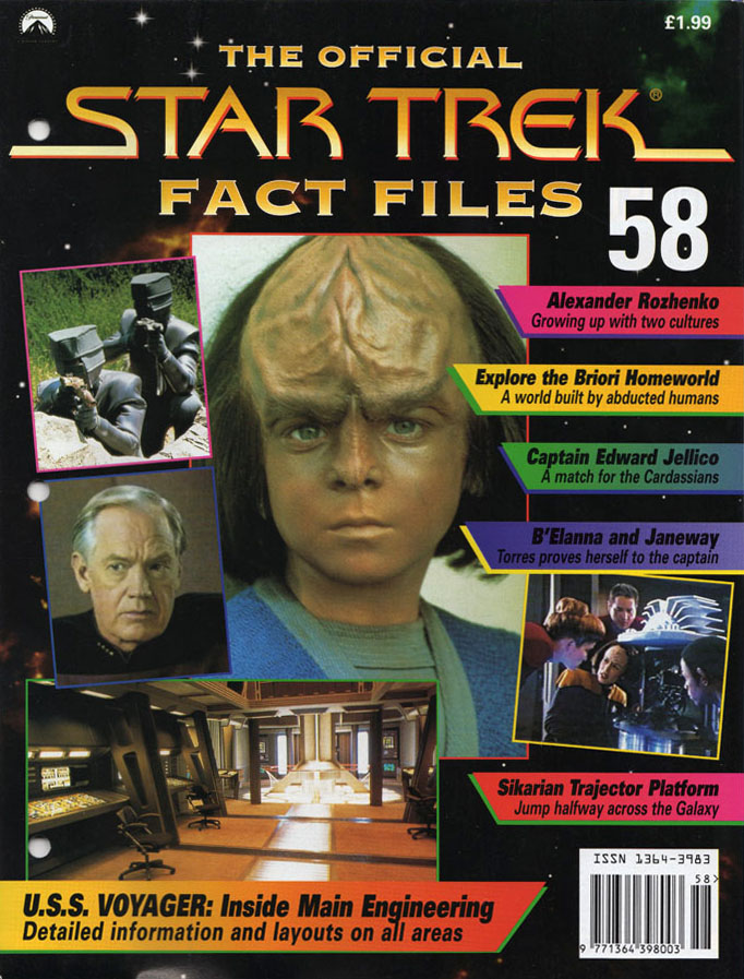 Star Trek Fact Files Cover 058