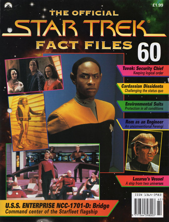 Star Trek Fact Files Cover 060