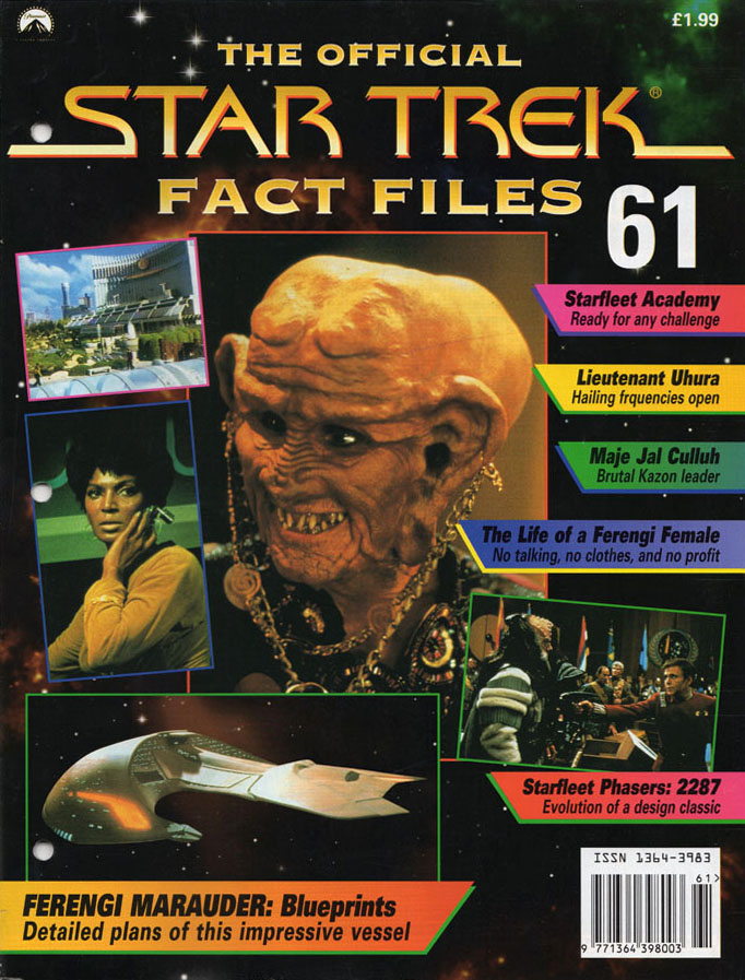 Star Trek Fact Files Cover 061