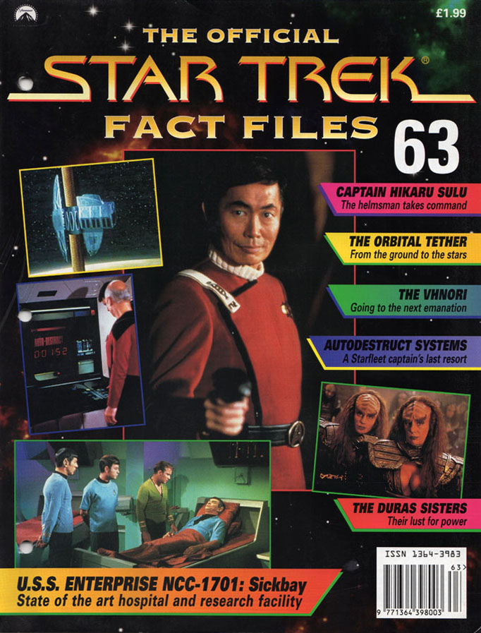 Star Trek Fact Files Cover 063