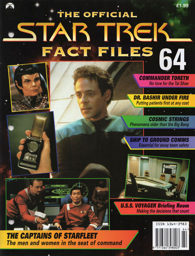 Star Trek Fact Files Cover 064