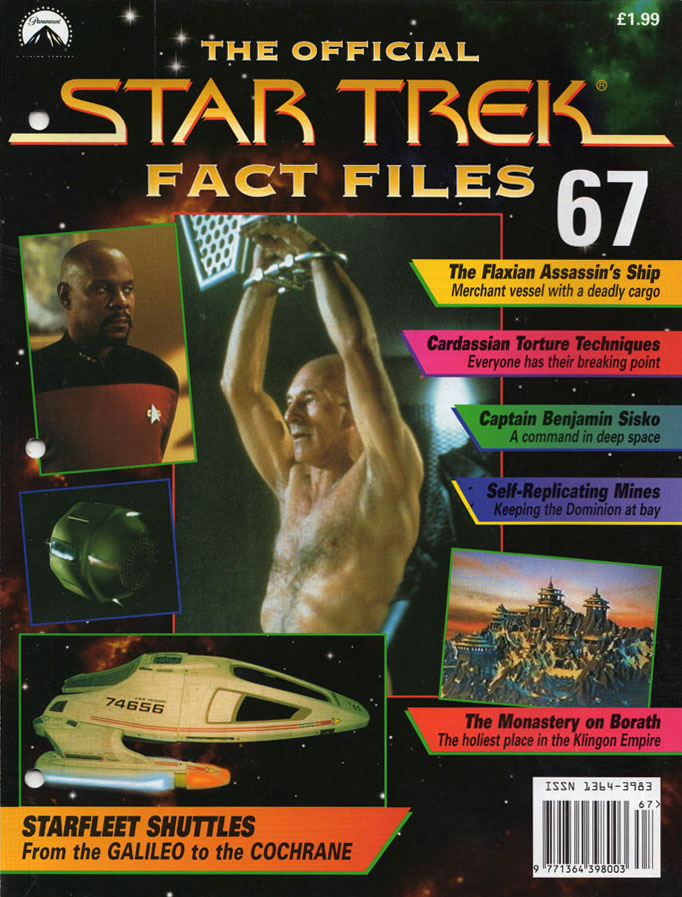 Star Trek Fact Files Cover 067