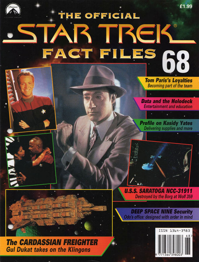 Star Trek Fact Files Cover 068
