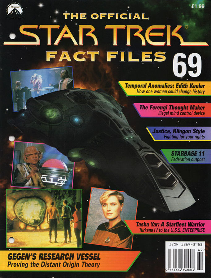 Star Trek Fact Files Cover 069