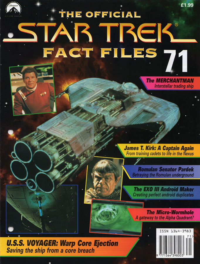Star Trek Fact Files Cover 071