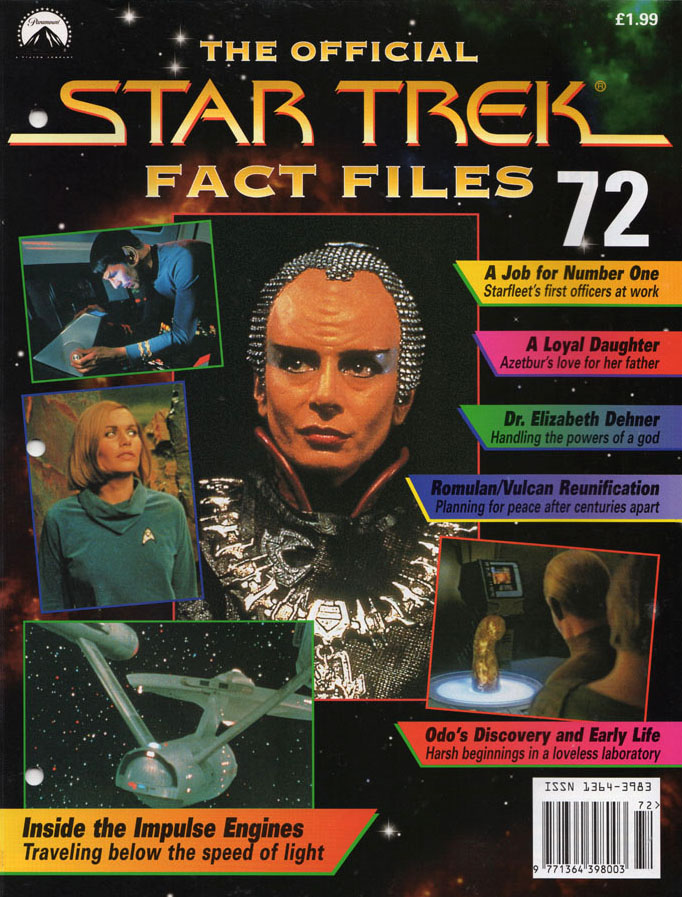 Star Trek Fact Files Cover 072