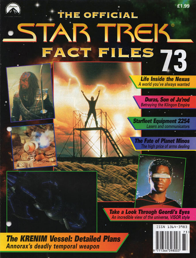 Star Trek Fact Files Cover 073