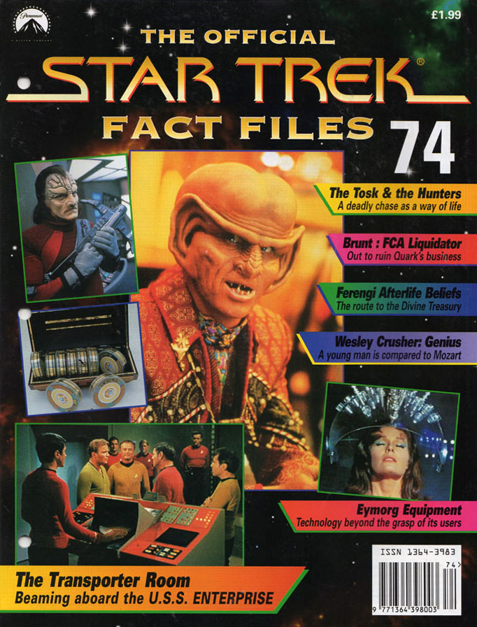 Star Trek Fact Files Cover 074
