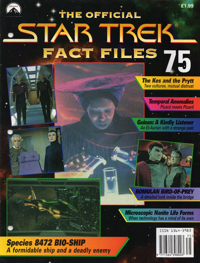 Star Trek Fact Files Cover 075