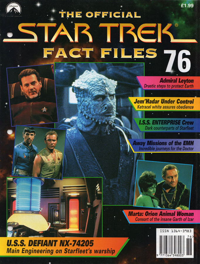 Star Trek Fact Files Cover 076