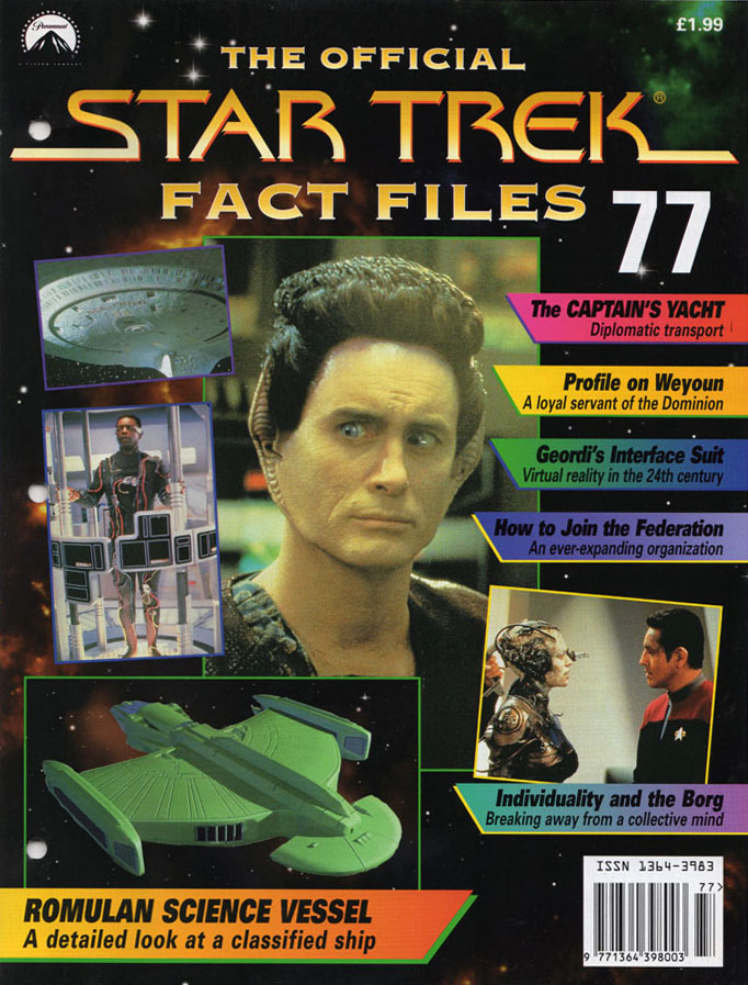 Star Trek Fact Files Cover 077