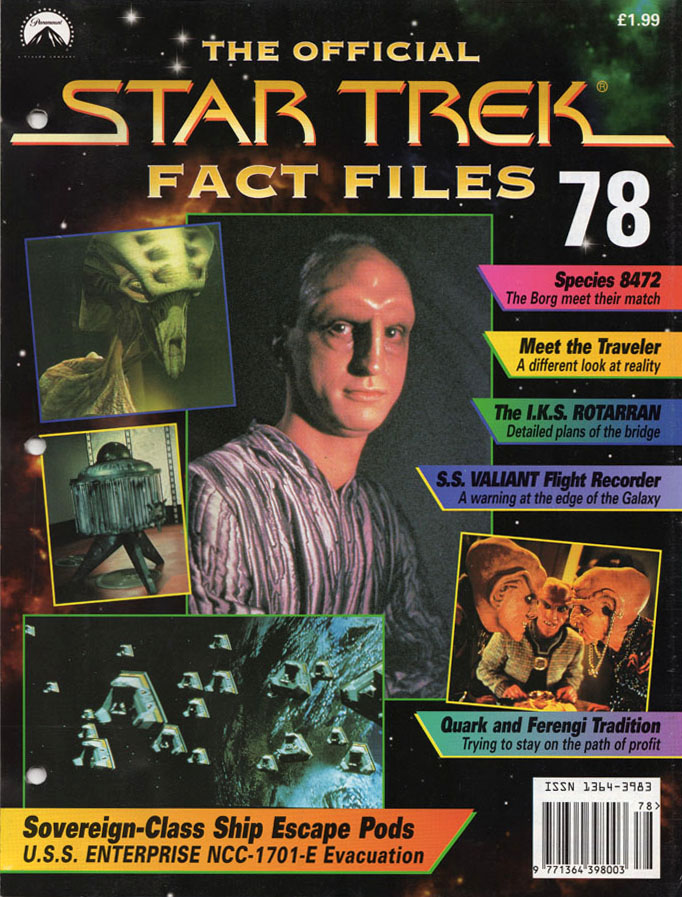 Star Trek Fact Files Cover 078