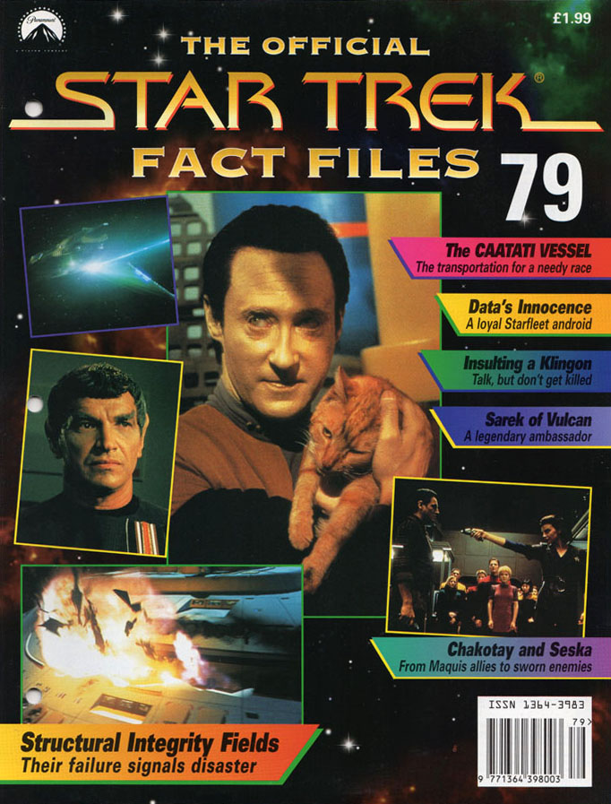 Star Trek Fact Files Cover 079