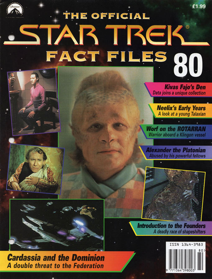 Star Trek Fact Files Cover 080
