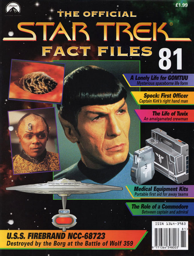 Star Trek Fact Files Cover 081