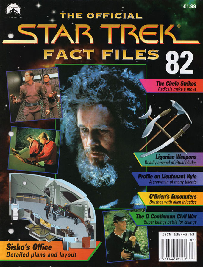 Star Trek Fact Files Cover 082