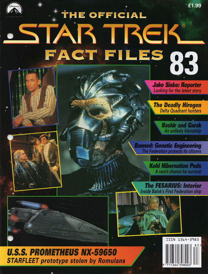 Star Trek Fact Files Cover 083