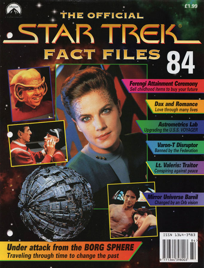 Star Trek Fact Files Cover 084