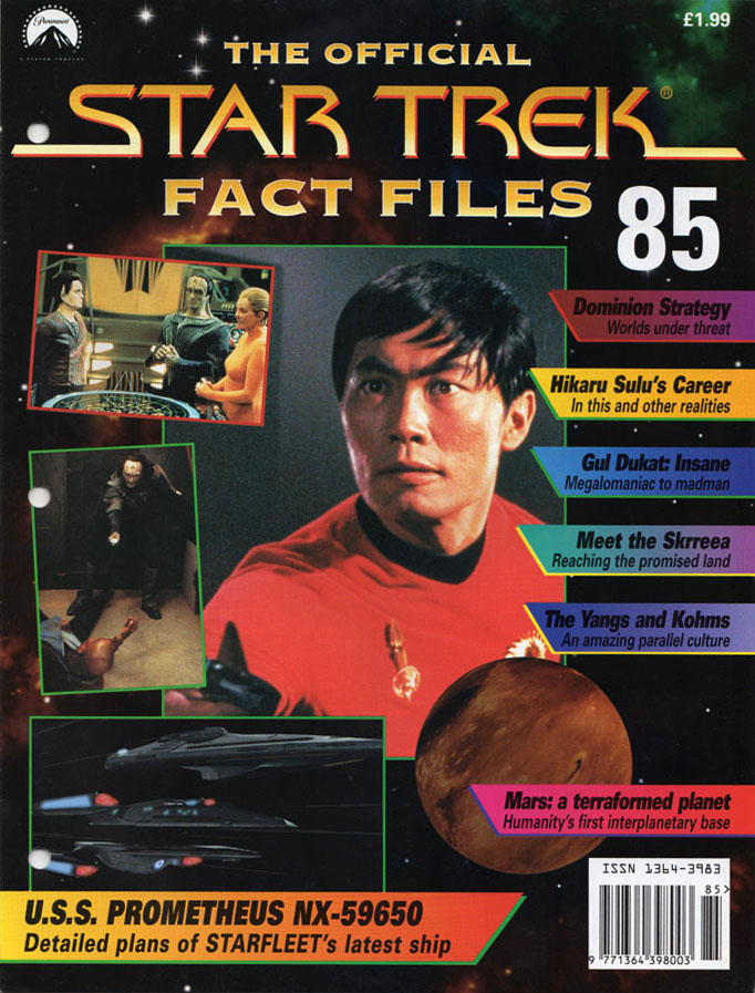 Star Trek Fact Files Cover 085