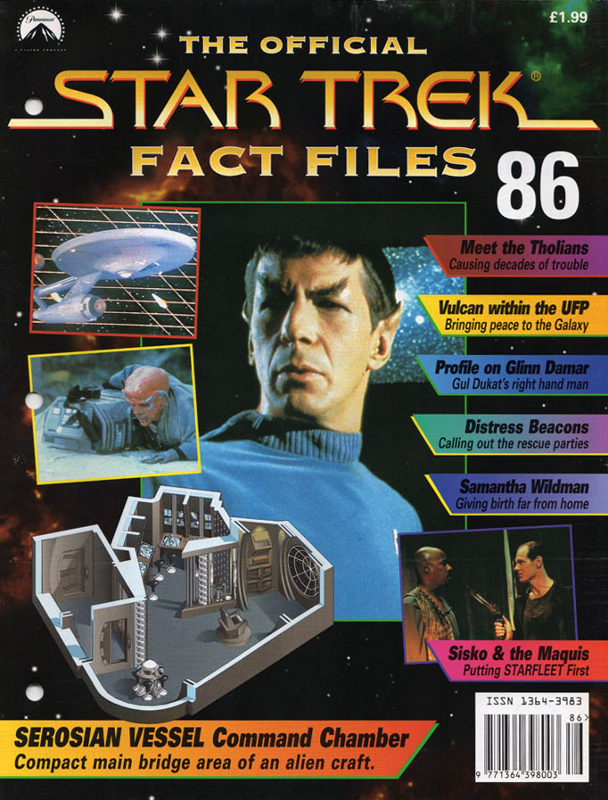 Star Trek Fact Files Cover 086