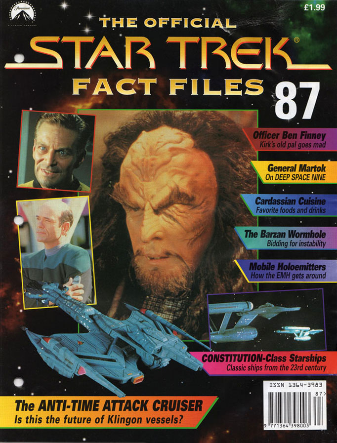 Star Trek Fact Files Cover 087