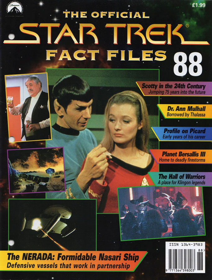 Star Trek Fact Files Cover 088