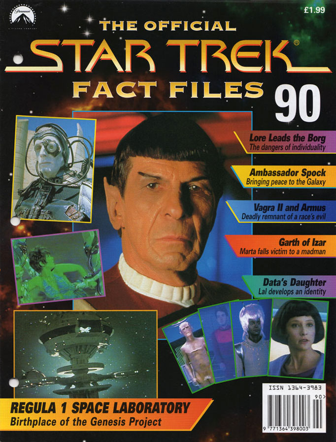 Star Trek Fact Files Cover 090