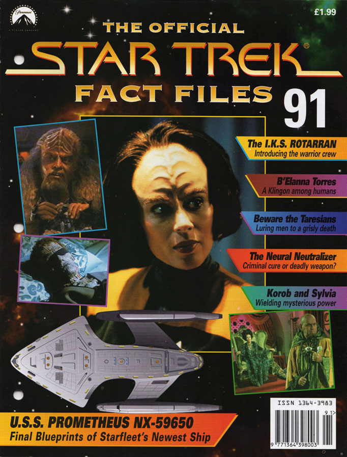 Star Trek Fact Files Cover 091