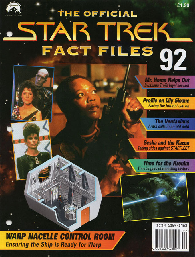 Star Trek Fact Files Cover 092