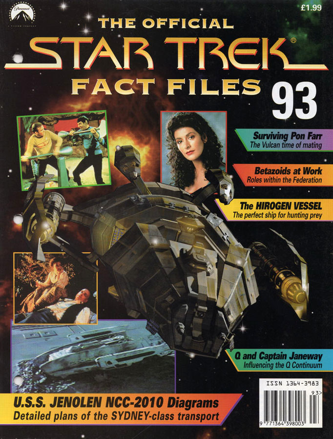 Star Trek Fact Files Cover 093