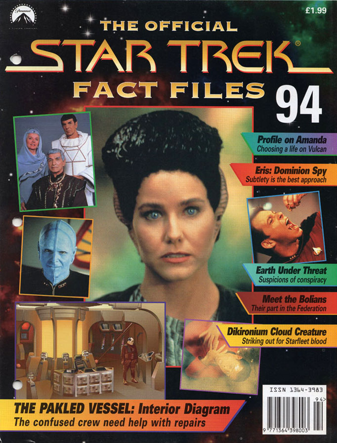 Star Trek Fact Files Cover 094