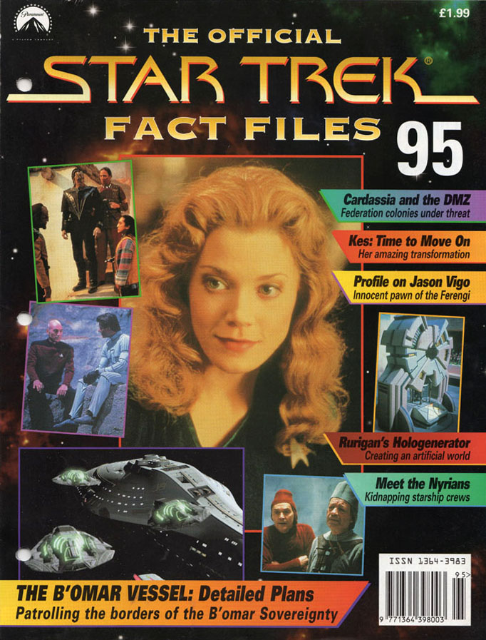 Star Trek Fact Files Cover 095
