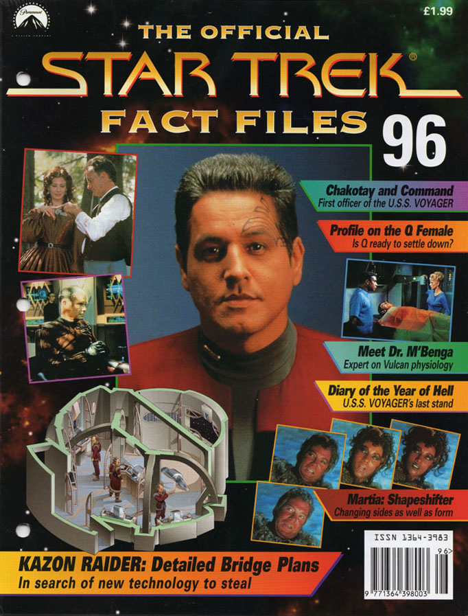 Star Trek Fact Files Cover 096