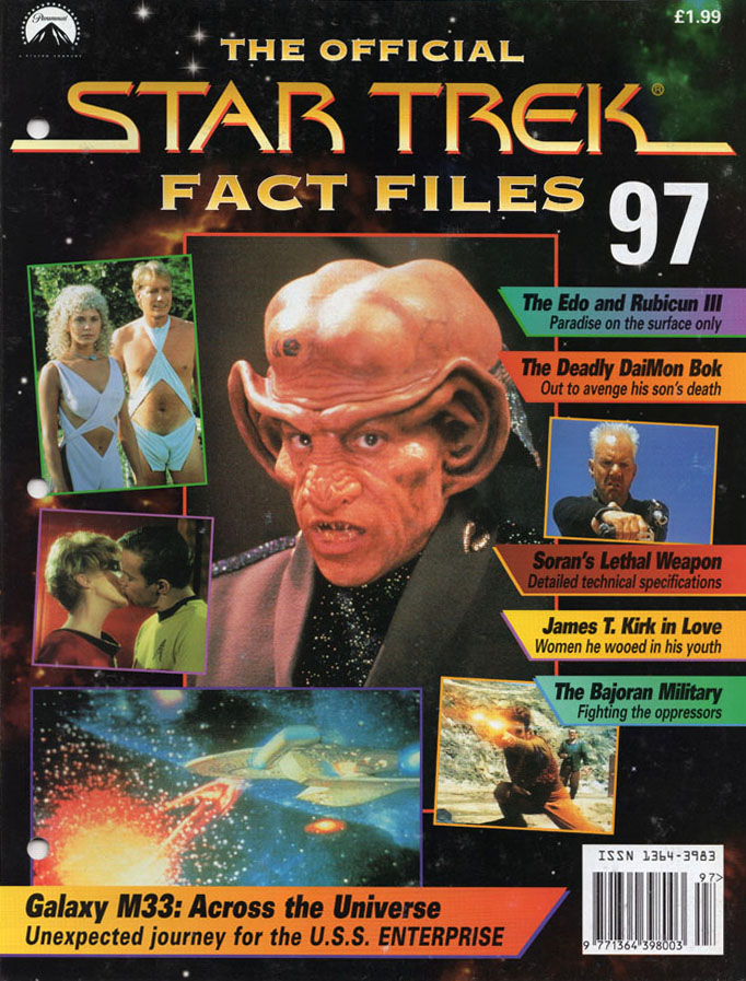 Star Trek Fact Files Cover 097