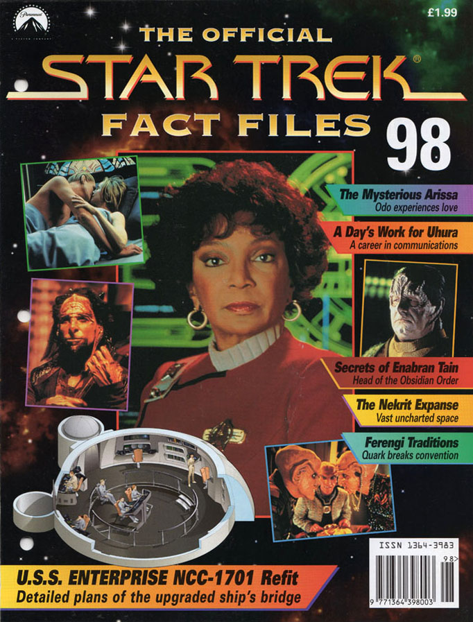 Star Trek Fact Files Cover 098