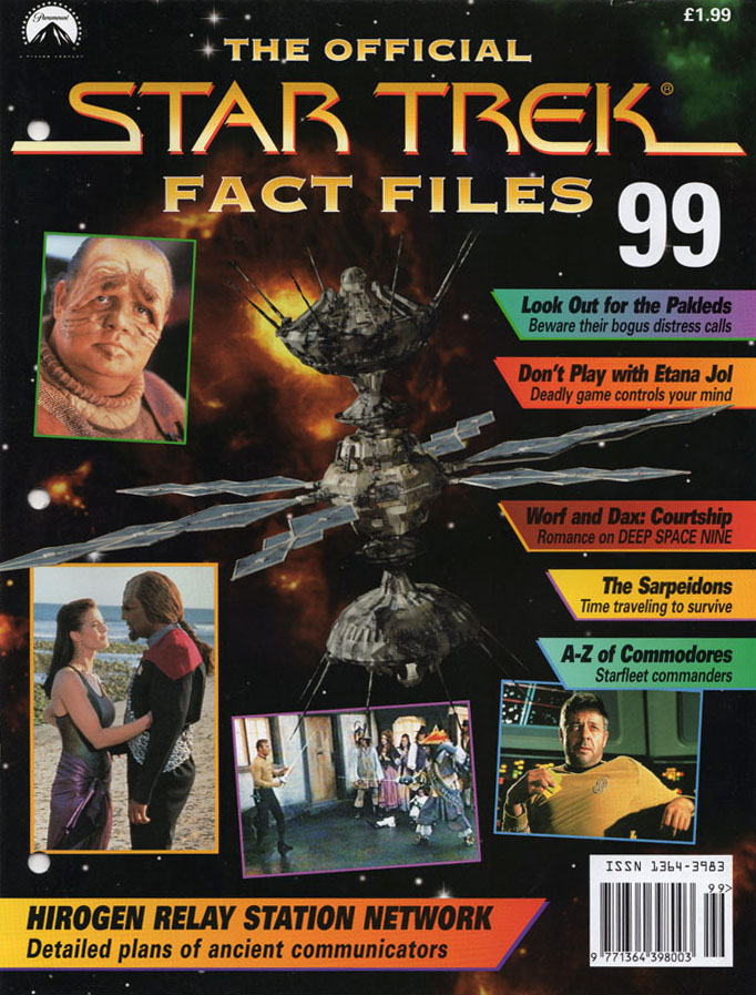 Star Trek Fact Files Cover 099