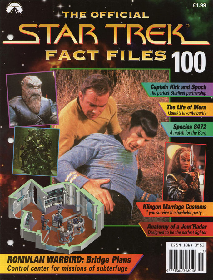 Star Trek Fact Files Cover 100