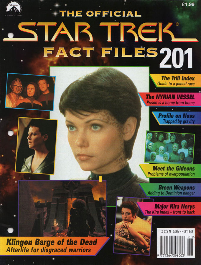 Star Trek Fact Files Cover 201