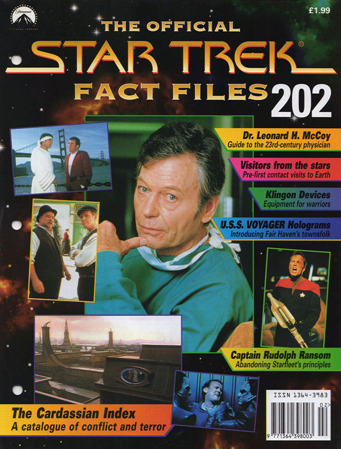 Star Trek Fact Files Cover 202