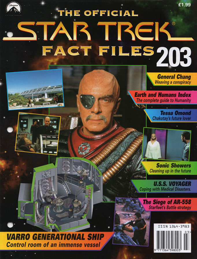 Star Trek Fact Files Cover 203