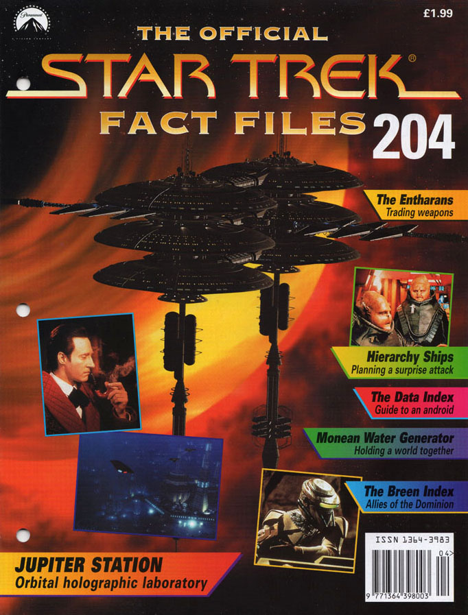 Star Trek Fact Files Cover 204