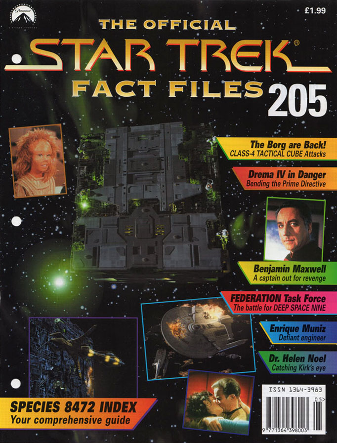 Star Trek Fact Files Cover 205