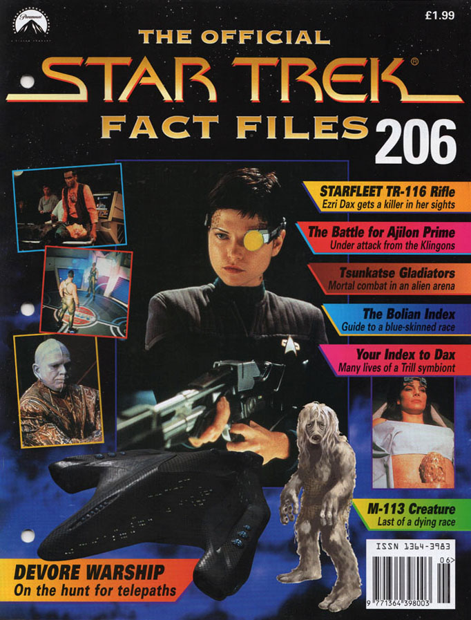 Star Trek Fact Files Cover 206