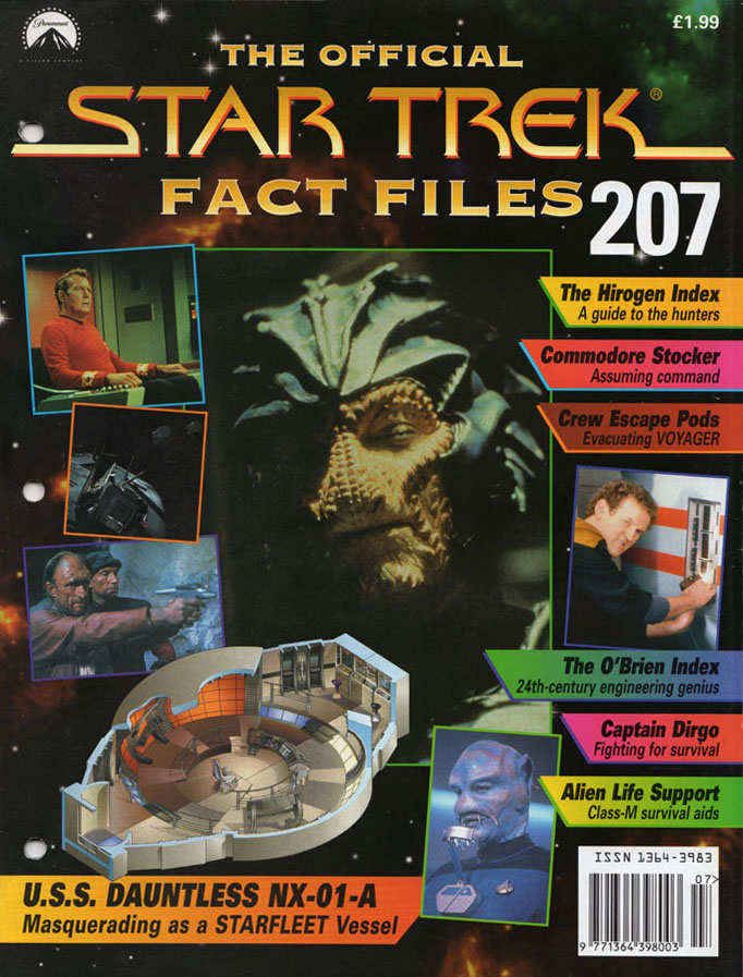 Star Trek Fact Files Cover 207